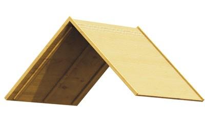WINNETOO Holzdach / Dach für Spielturm (5) Bild 1
