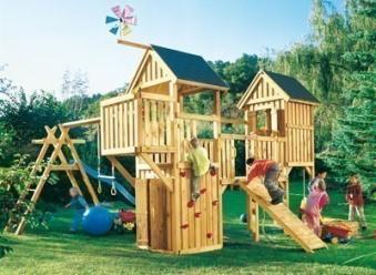 WINNETOO Holzdach / Dach für Spielturm (5) Bild 3