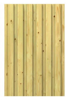 WINNETOO Wand / Wandelement Holz 90x138cm Bild 1