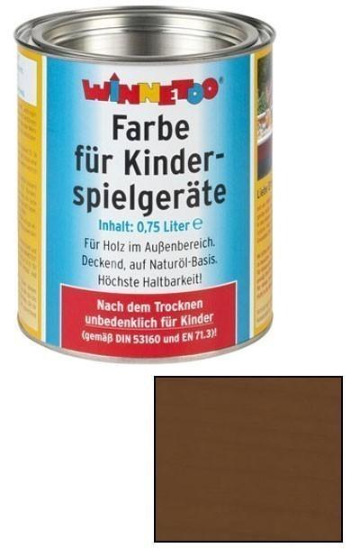 Winnetoo Farbe erdbraun 750ml Bild 1