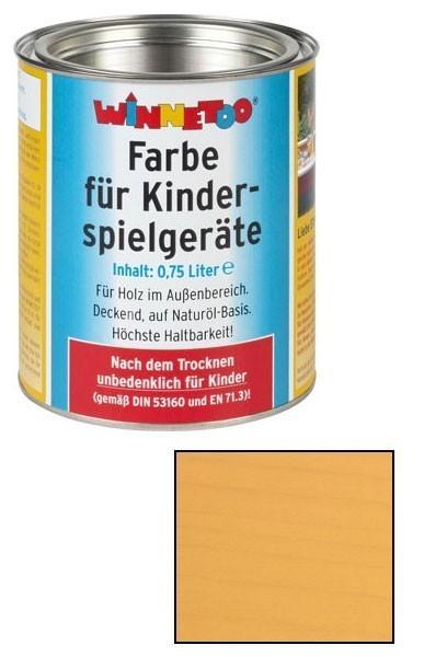 Winnetoo Farbe sandgelb 750ml Bild 1