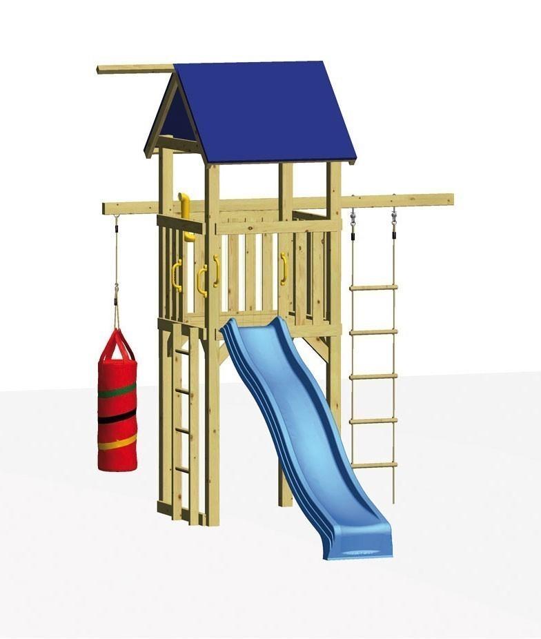 Winnetoo Spielturm ROKKY mit Boxsack Bild 1