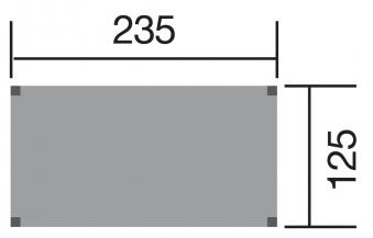 Tabaluga Spielhaus / Stelzenhaus 815 235x125x332cm Bild 2