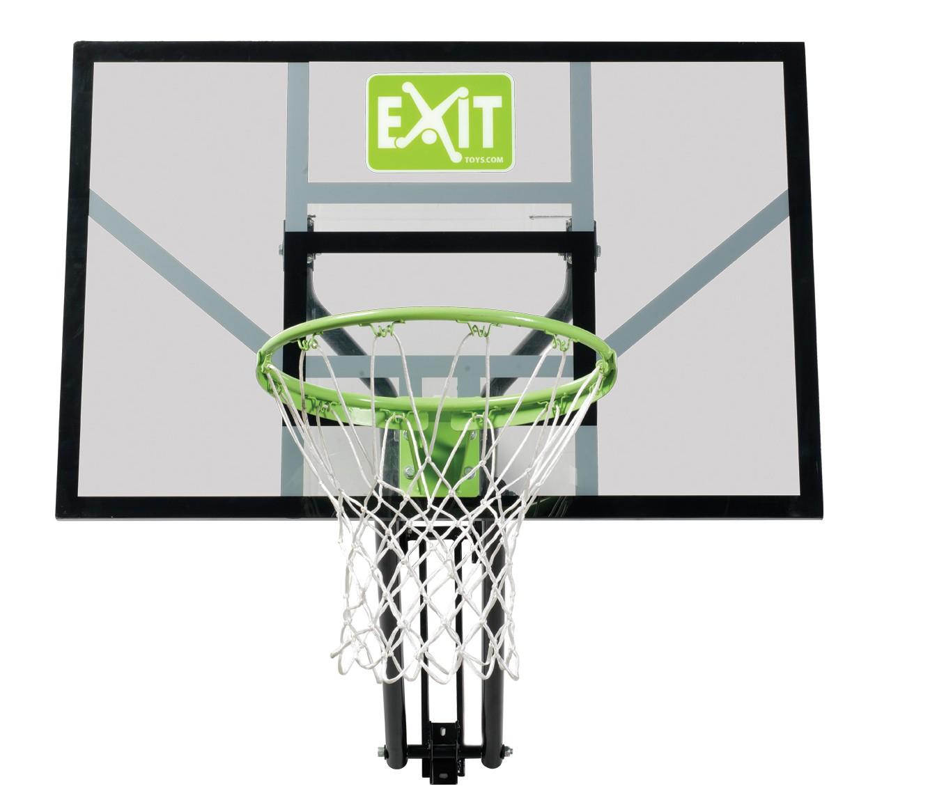 Basketballkorb dunking mit Brett EXIT Galaxy Wall-mount 116x77cm Bild 1