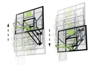 Basketballkorb dunking mit Brett EXIT Galaxy Wall-mount 116x77cm Bild 2