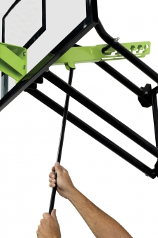 Basketballkorb dunking mit Brett EXIT Galaxy Wall-mount 116x77cm Bild 3