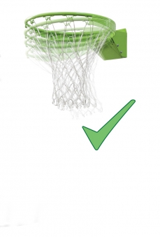 Basketballkorb dunking mit Brett EXIT Galaxy Wall-mount 116x77cm Bild 4