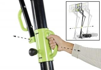 Basketballkorb dunking mit Ständer EXIT Galaxy Portable 230-305cm Bild 2