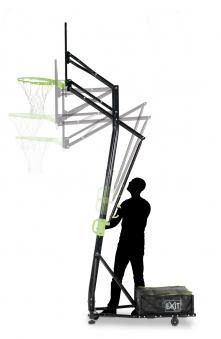 Basketballkorb dunking mit Ständer EXIT Galaxy Portable 230-305cm Bild 3