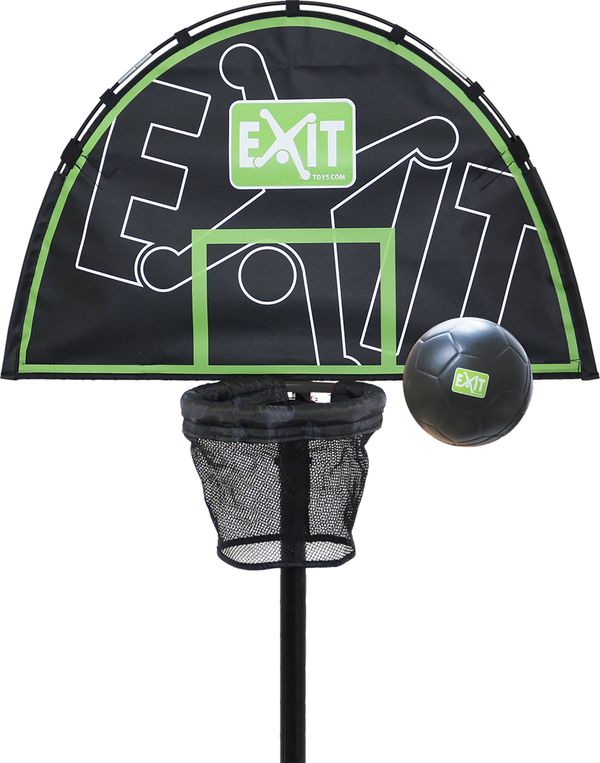 EXIT Basketballkorb für Trampolin + Mini Schaumball Ø15cm Bild 1