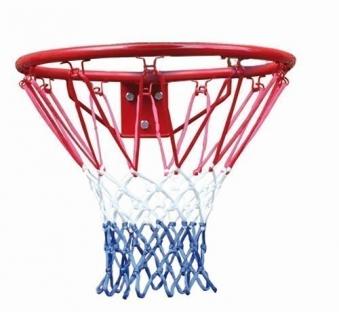 Karibu Akubi Basketballkorb rot/blau für  Kinderspielgeräte Bild 1