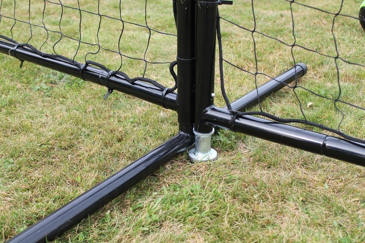 EXIT Ballfangnetz Backstop Netz 900 900x300cm schwarz Bild 4
