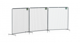 EXIT Ballfangnetz Backstop Netz 900 900x300cm schwarz Bild 1