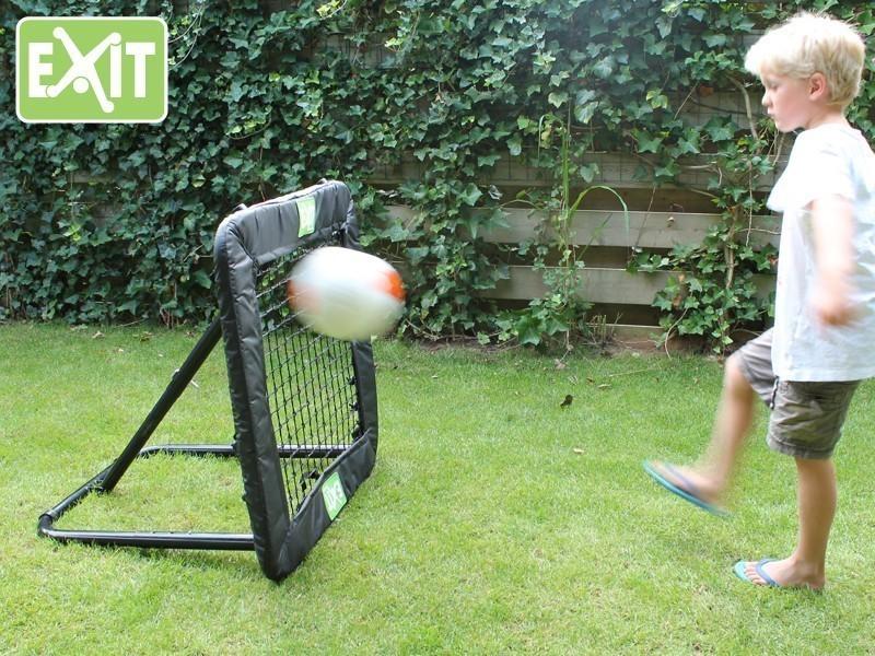 Rückschlagspiel / Trainingshilfe EXIT Kickback Rebounder L 124x124cm Bild 2