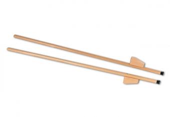 Holzstelzen, verstellbar 150cm Bild 1