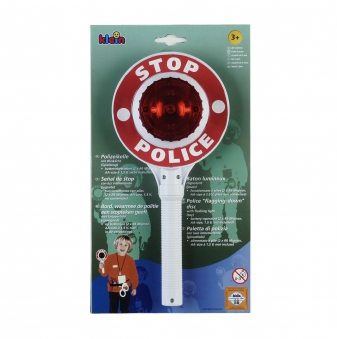 Klein Theo Spielzeug Polizeikelle mit Blinklicht Bild 1