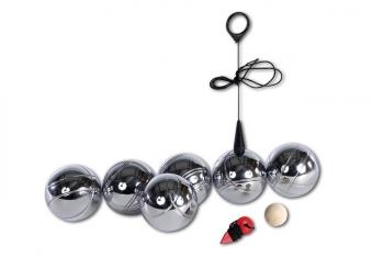 Boule - Spiel NEW SPORTS mit 6 Kugeln Bild 1