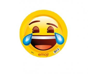 Emoji Ball lachend / wütend Kunststoff Ball Ø 23cm Happy People Bild 1