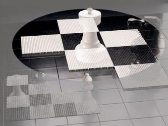 Großes Schachfeld für den Außenbereich - Rolly Toys