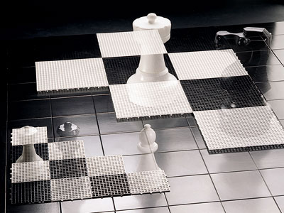 Kleines Schachfeld für den Außenbereich - Rolly Toys Bild 2