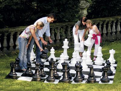 Kleines Schachfeld für den Außenbereich - Rolly Toys Bild 3