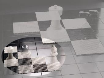 Kleines Schachfeld für den Außenbereich - Rolly Toys Bild 1