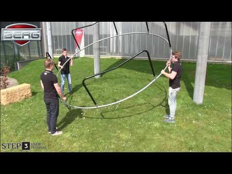 Gummizug für Trampolin Schutzrand 10 Stück BERG toys Video Screenshot 3198