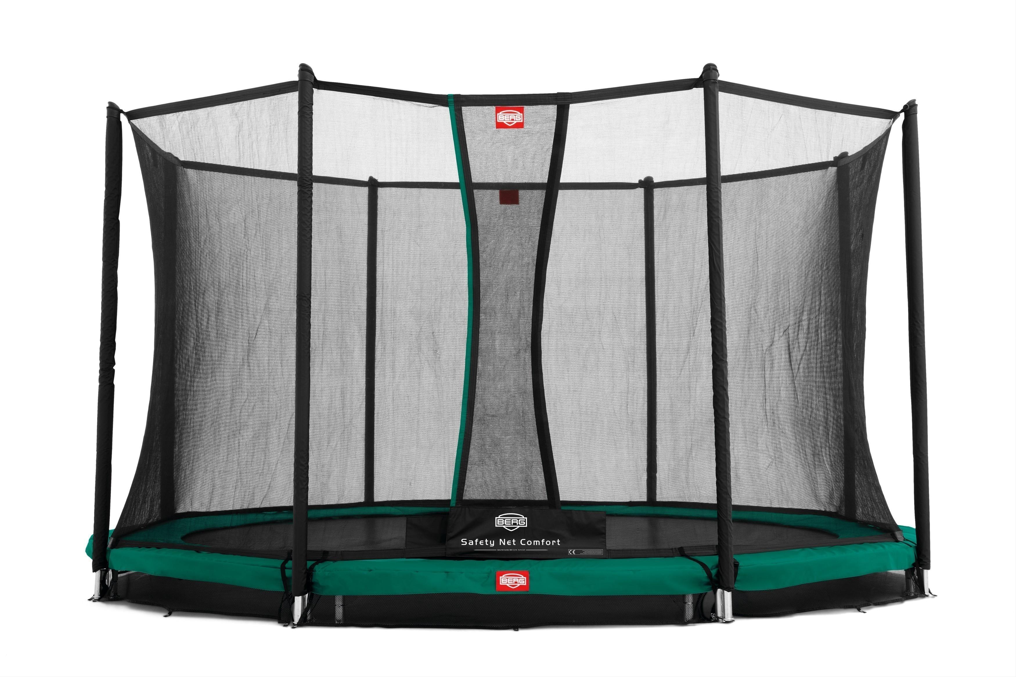 Trampolin Favorit InGround + Sicherheitsnetz Comfort Ø330cm BERG toys Bild 1