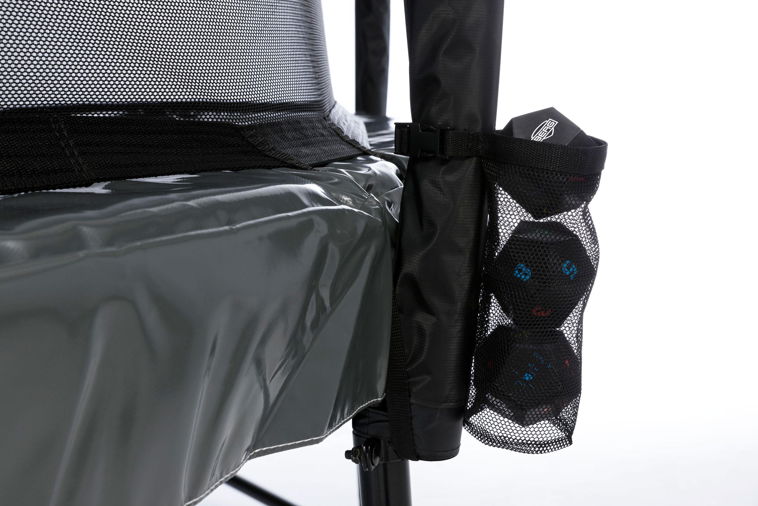 Trampolin Favorit Levels grau Sicherheitsnetz Comfort Ø430cm BERG toys Bild 8