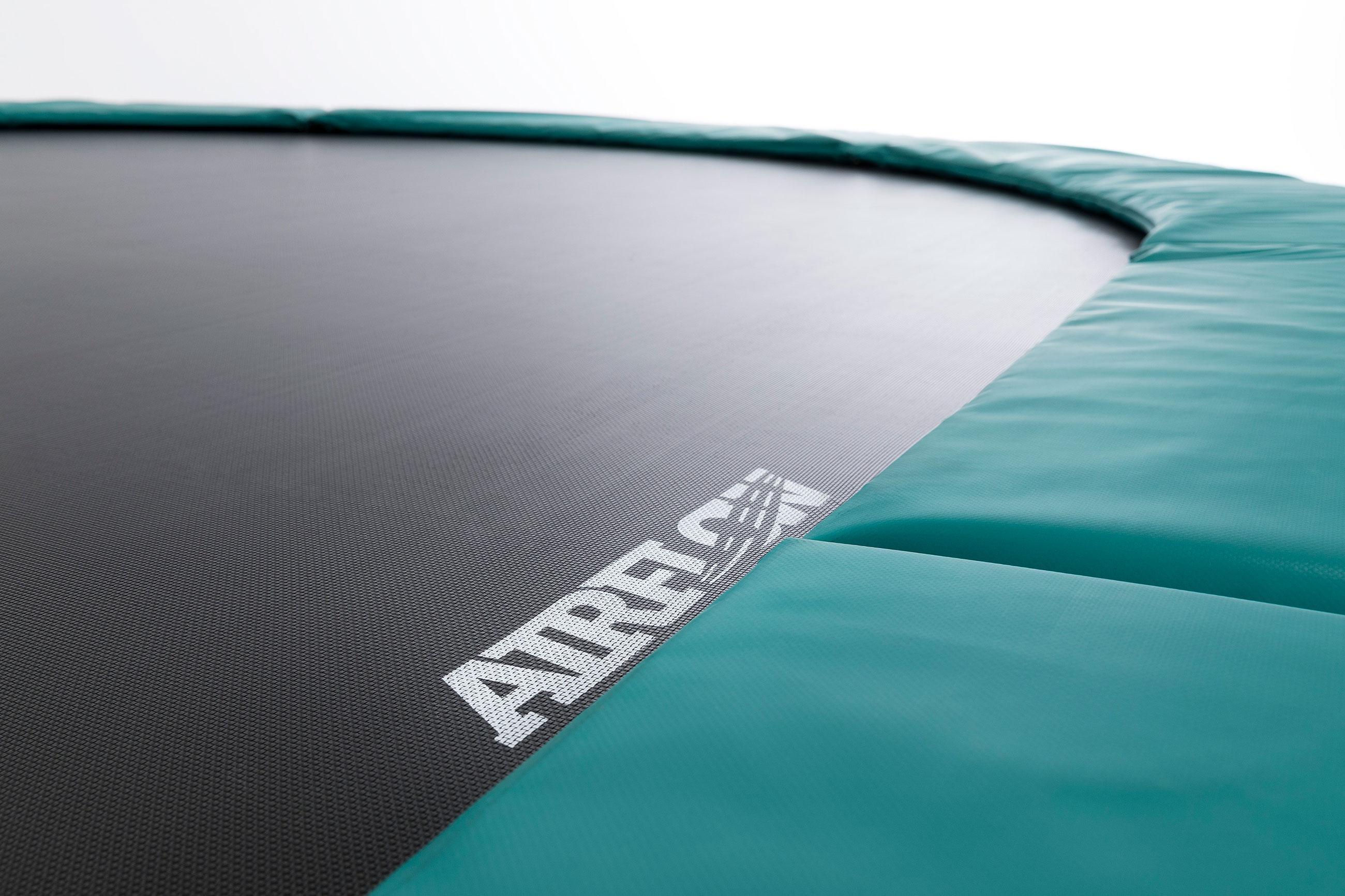 Trampolin Grand Champion grün Sicherheitsnetz Deluxe 350x250 BERG toys Bild 4