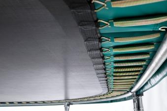 Trampolin Grand Favorit InGround Sports 520x345cm grün BERG toys Bild 3