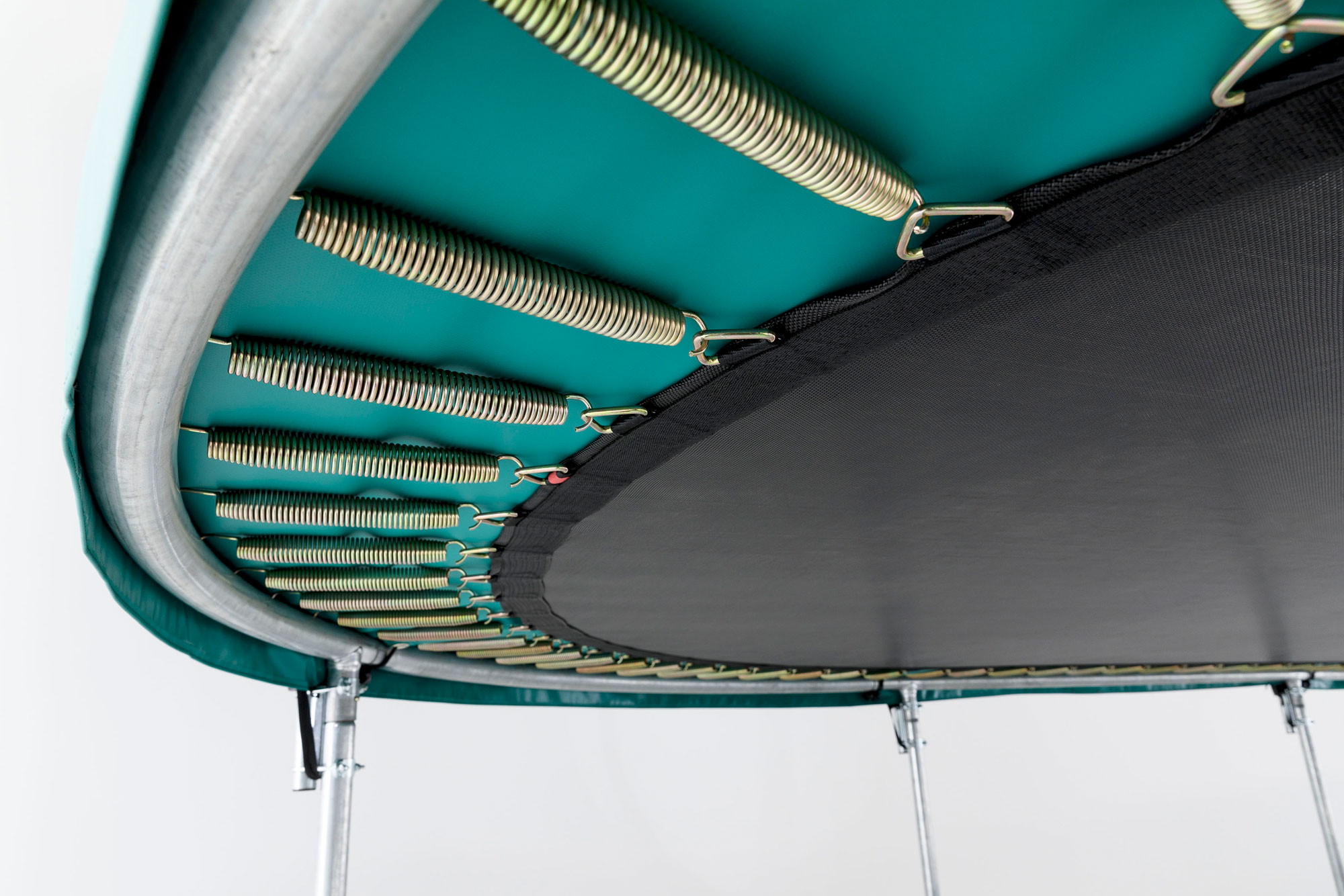 Trampolin Grand Favorit InGround Sports 520x345cm grau BERG toys Bild 2