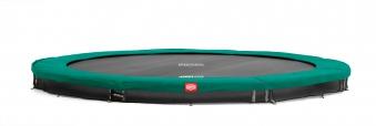 Trampolin InGround Champion Sports grün Ø270cm BERG toys Bild 1