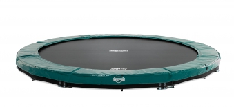 Trampolin InGround Elite Sports grün Ø430cm BERG toys Bild 1