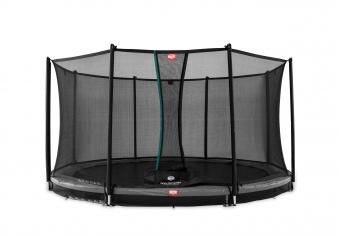 Trampolin InGround Favorit grau mit Netz Comfort Ø330cm BERG toys Bild 1