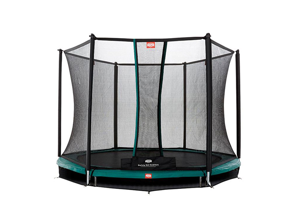 Trampolin Talent InGround + Sicherheitsnetz Comfort Ø300cm BERG toys Bild 1