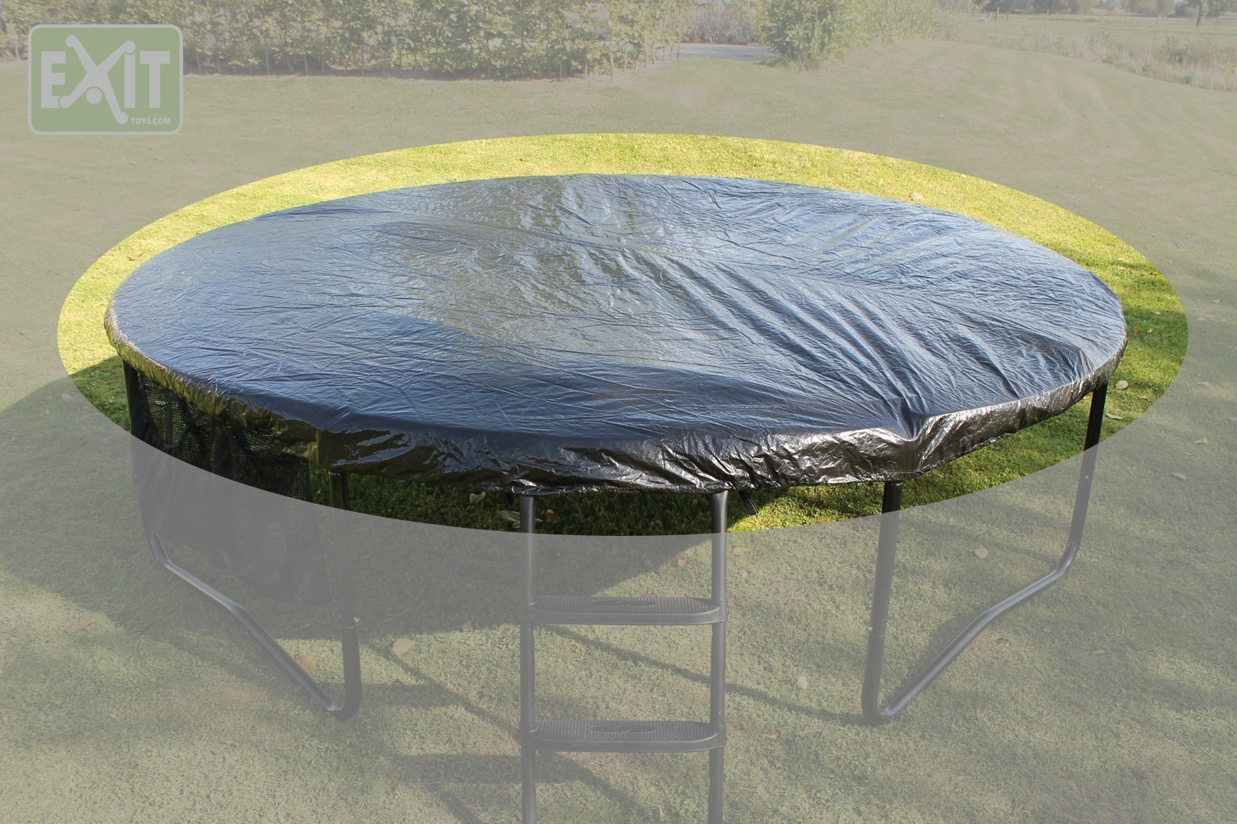 Abdeckplane für Trampolin EXIT bis Ø366cm Bild 1