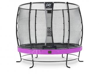 Trampolin EXIT Elegant Premium Ø253cm + Sicherheitsnetz Deluxe lila Bild 1