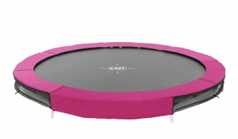 Trampolin EXIT Silhouette Ground Ø305cm Lime pink