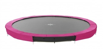 Trampolin EXIT Silhouette Ground Ø366cm Lime pink