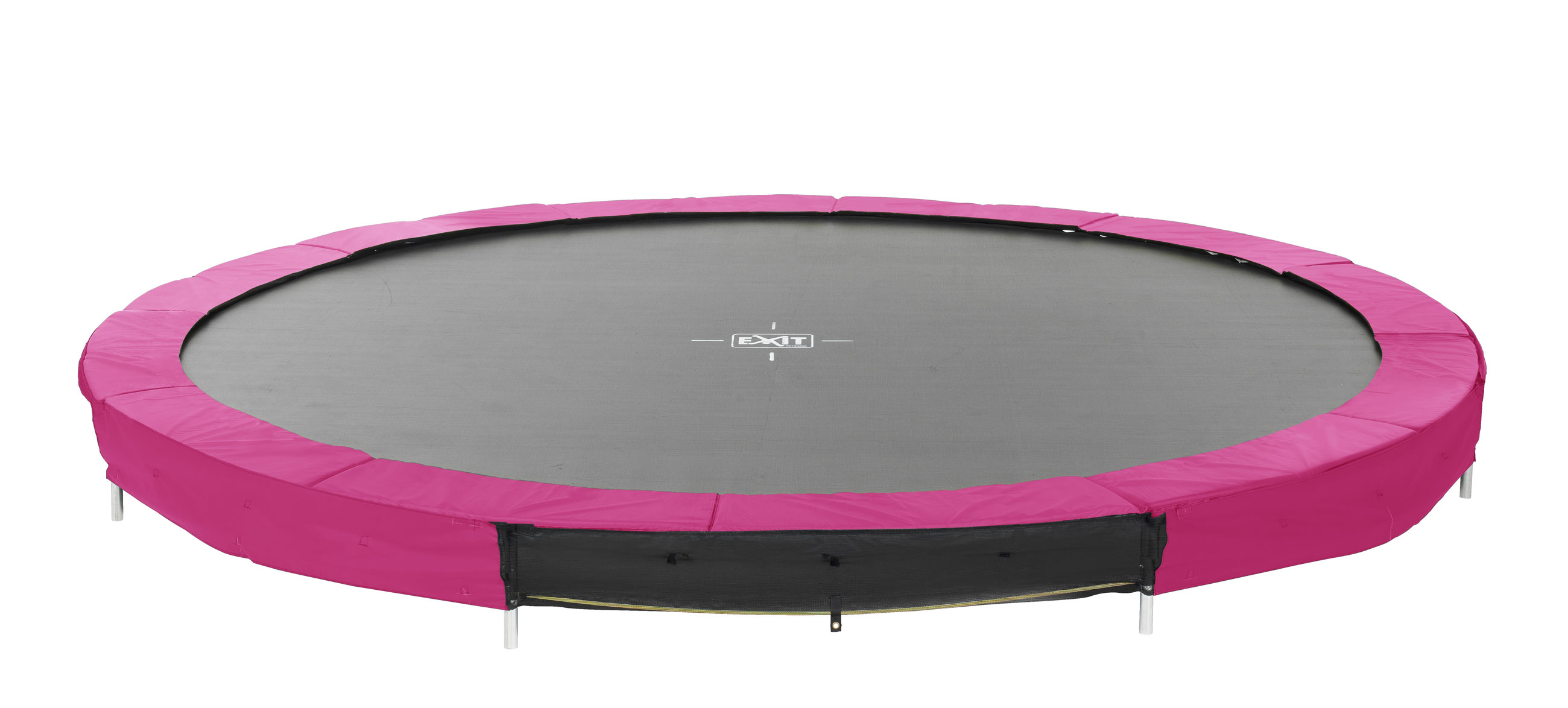 Trampolin EXIT Silhouette Ground Ø427cm pink Bild 1