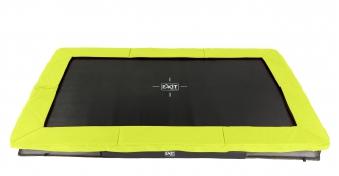 Trampolin EXIT Silhouette Ground rechteckig 214x305cm grün Bild 1