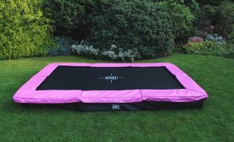 Trampolin EXIT Silhouette Ground rechteckig 214x305cm pink Bild 4