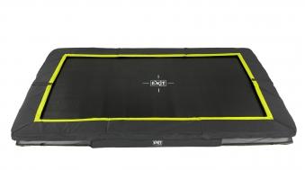 Trampolin EXIT Silhouette Ground rechteckig 214x305cm schwarz Bild 1