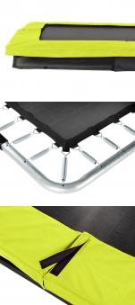 Trampolin EXIT Silhouette Ground rechteckig 214x305cm schwarz Bild 3
