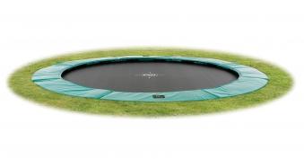 Trampolin EXIT Supreme Ground Level Ø366cm grün Bild 1
