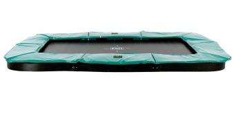 Trampolin EXIT Supreme Ground Level rechteckig 214x366cm grün Bild 2