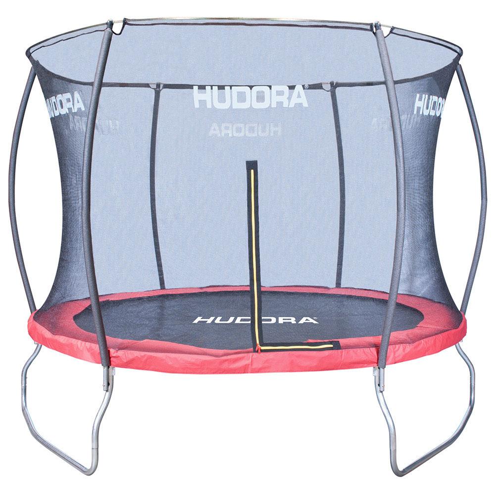 hudora fantastic trampolin 300 cm rot bei. Black Bedroom Furniture Sets. Home Design Ideas