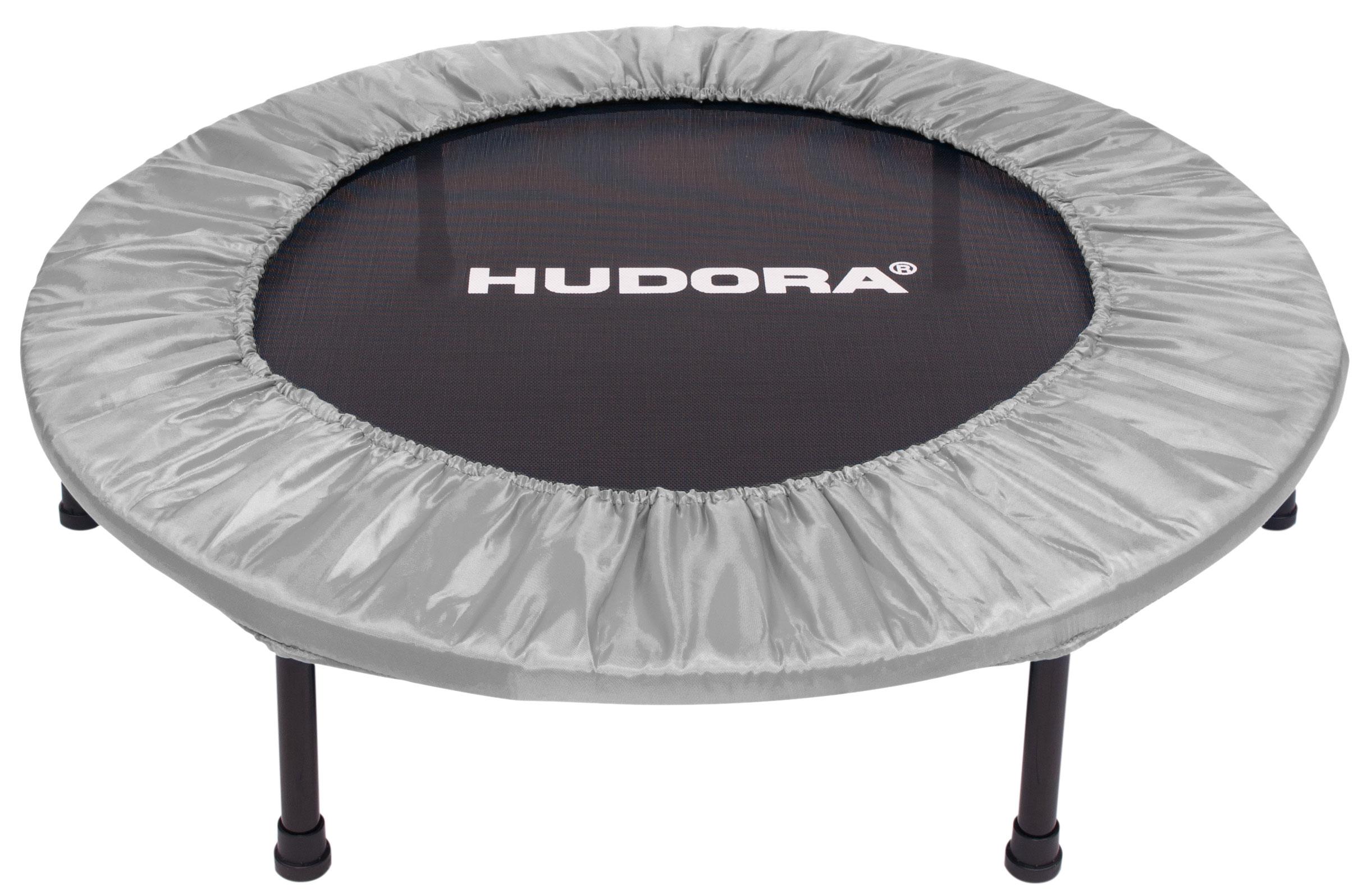 hudora trampolin faltbar 96cm grau bei. Black Bedroom Furniture Sets. Home Design Ideas