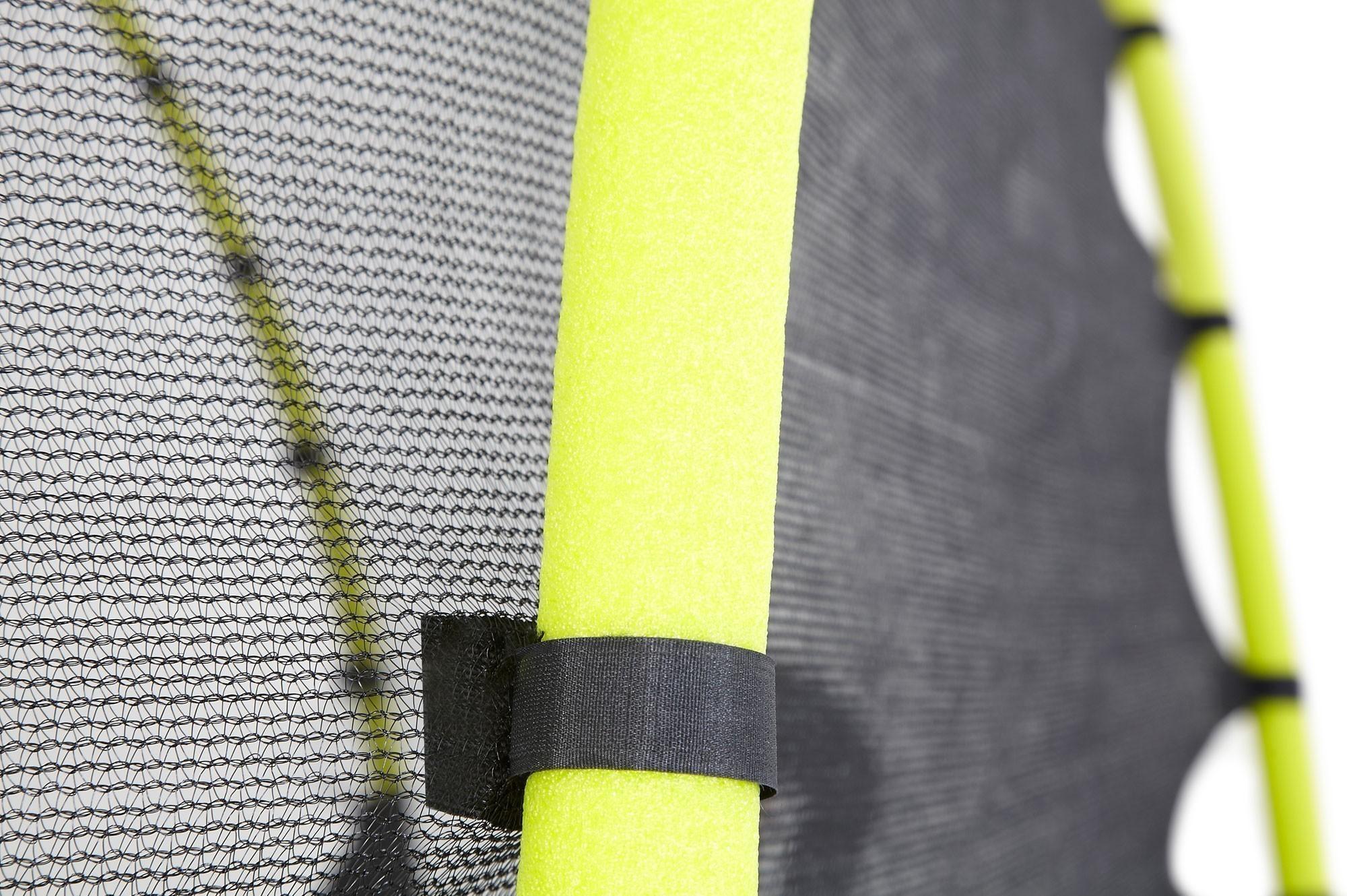Trampolin Plum Whirlewind mit Sicherheitsnetz Ø305cm schwarz-gelb Bild 3